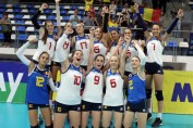 under 16 romania volei victorie