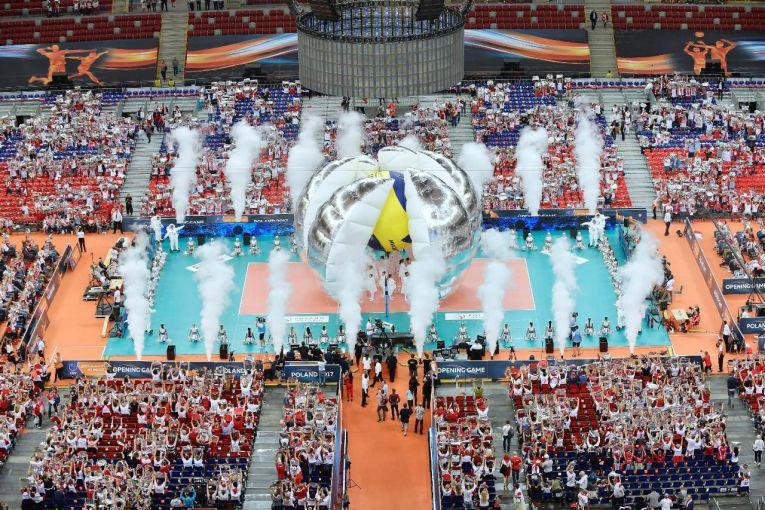 minge volei ceremonie deschidere volei europene
