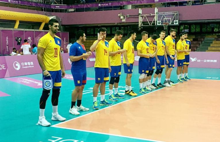 volei romania nationala universiada