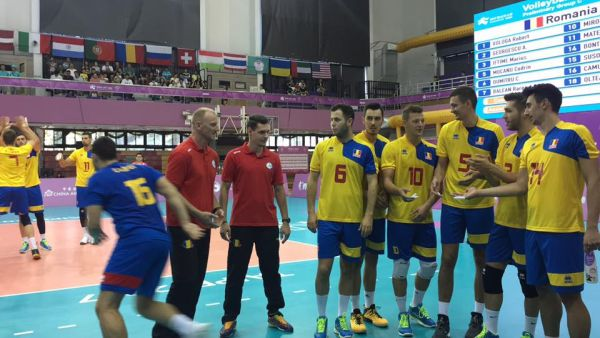 romania nationala universiada volei
