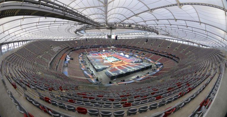 stadion varsovia campionat european volei