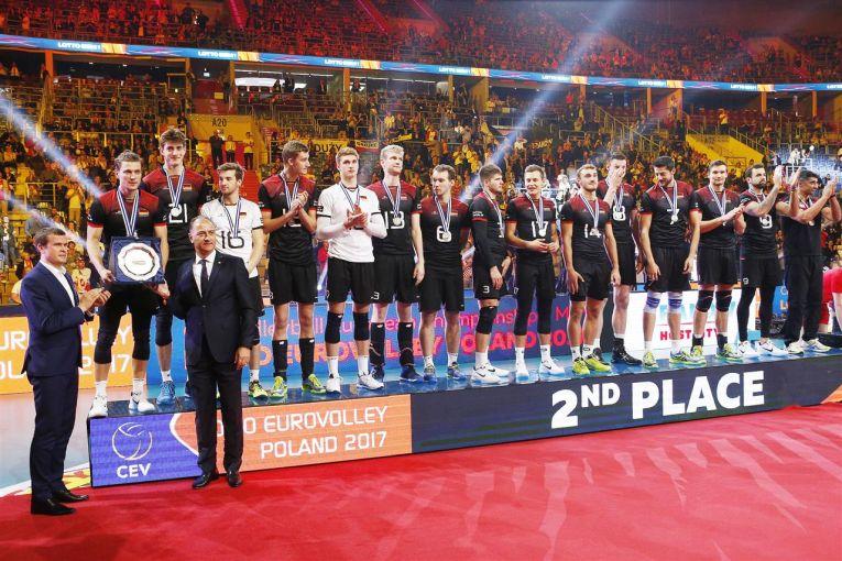 germania argint campionat european volei