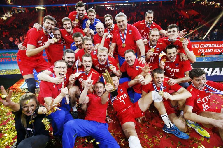rusia campioana europeana volei 2017
