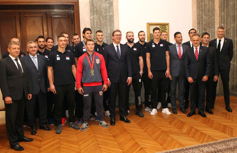 serbia dineu volei nationala bronz european