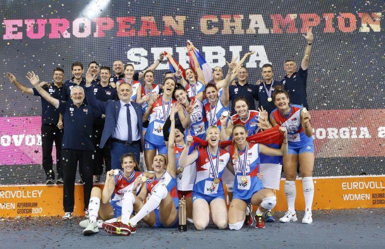 serbia campioana europeana volei
