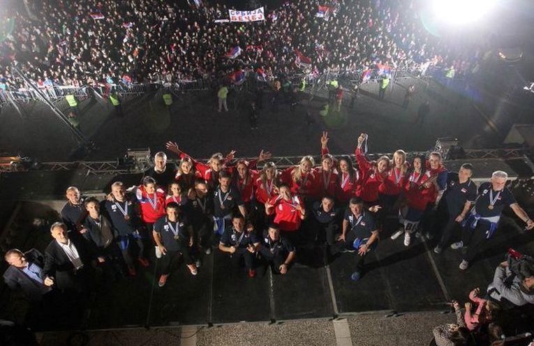 serbia campioana europeana fani belgrad