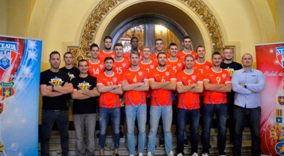 steaua volei echipa masculin 2017 2018