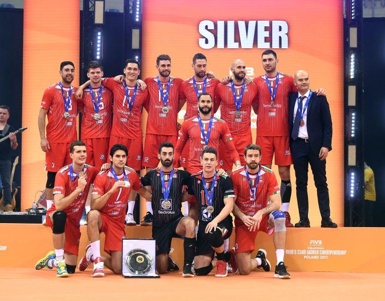 Cucine Lube Civitanova argint campionatul mondial al cluburilor volei