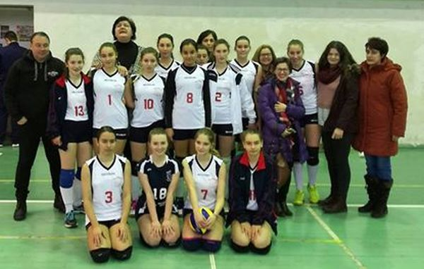 cadete power volleyball baia mare
