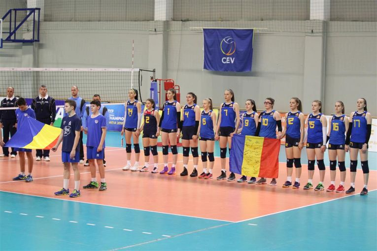 Romania Olanda volei echipa nationala