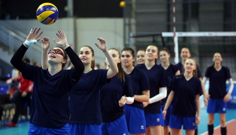 romania under 17 volei europene
