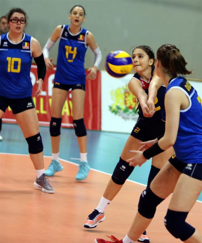 romania nationala under 17 cadete volei
