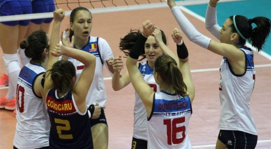 romania bucurie volei under 17