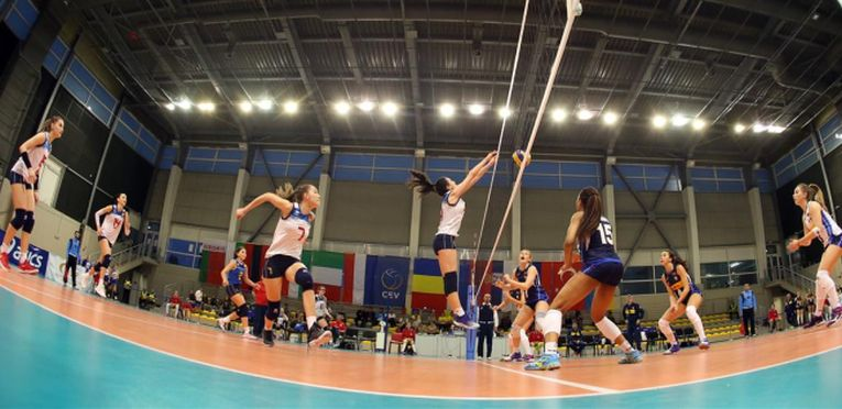 romania italia europene volei under 17