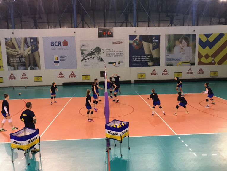 romania under 17 antrenament izvorani