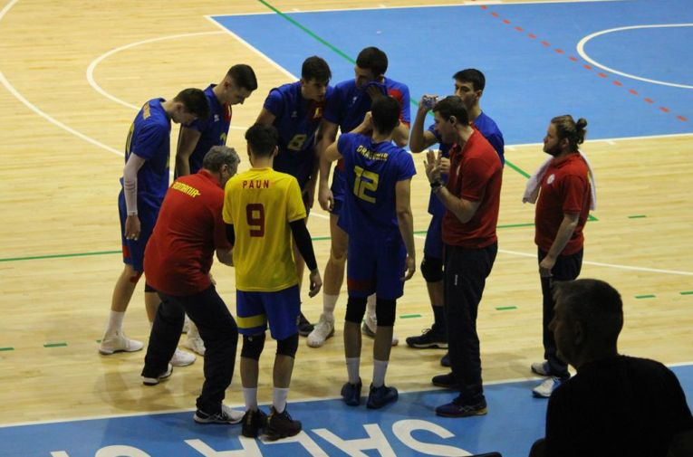 romania under 20 volei