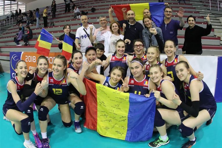 romania volei bucurie under 17