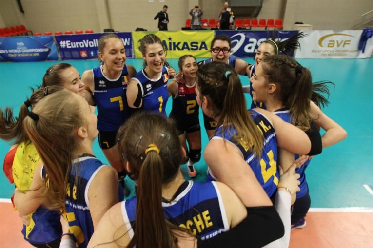 romania volei under 17
