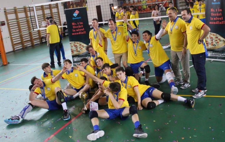 tudor constantinescu volei campion national romania cadeti