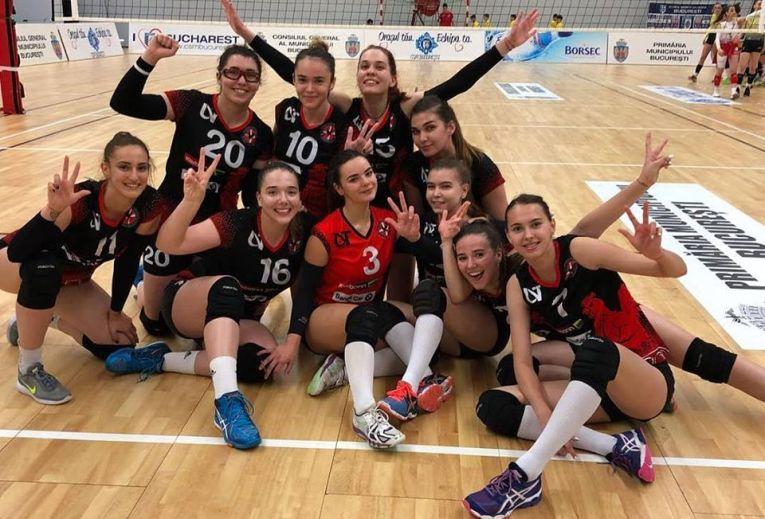 Echipa de junioare a clubului Agroland Timisoara s-a calificat in finala campionatului de volei
