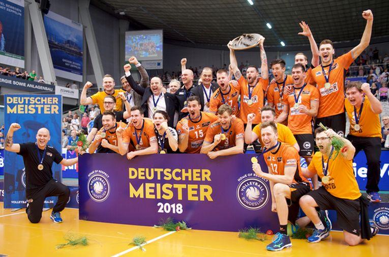 moculescu br volleys campioni germania