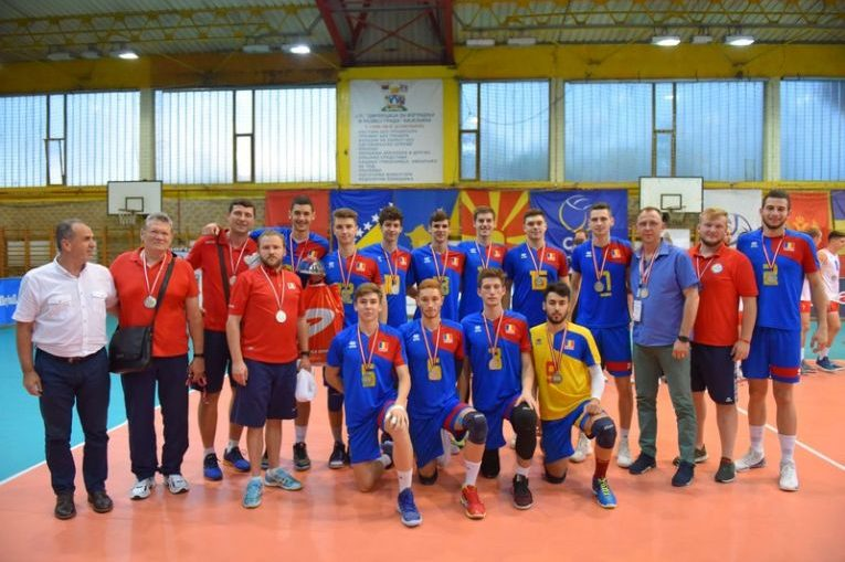 Nationala de volei Under 20 a Romaniei, vicecampioana balcanica in 2018