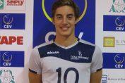 Lorenzo Benvenuti e primul jucator de volei din San Marino legitimat in Serie A la volei masculin