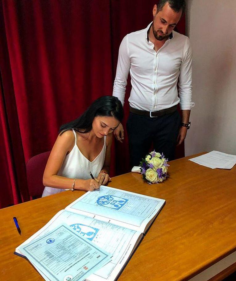 Mihaela Ozun s-a maritat in orasul sarb Loznica