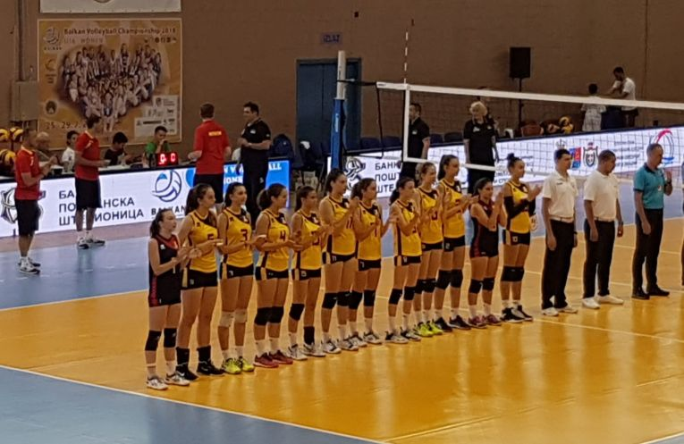 Nationala Under 16 la volei feminin a Romaniei