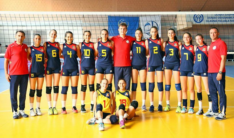 Nationala Romaniei Under 16 la Balcaniada 2018