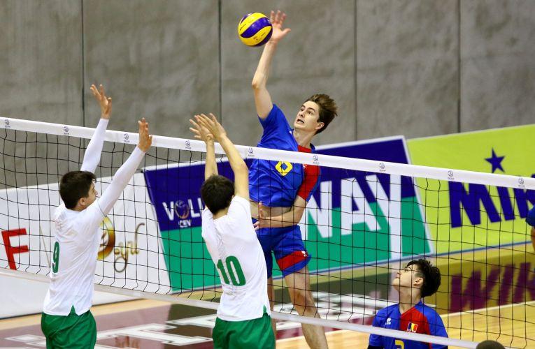 Romania a fost invinsa de Bulgaria in prima etapa a Balcaniadei U17