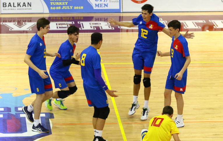 Romania nationala under 17 la campionatul balcanic locul 5
