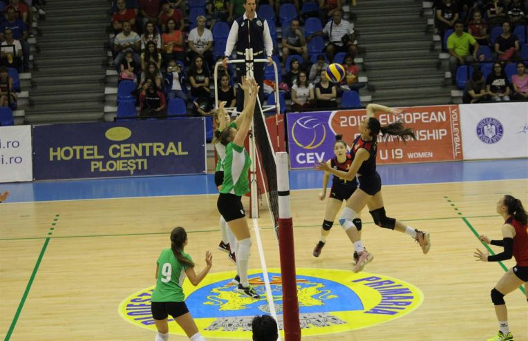 nationala romaniei under 19 la volei feminin
