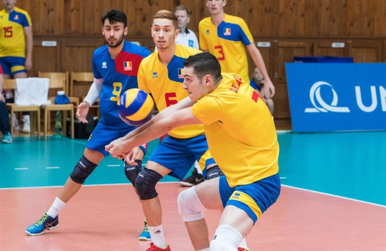 Romania under20 juniori volei