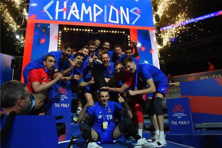Rusia este campioana primei editii a VNL la volei masculin
