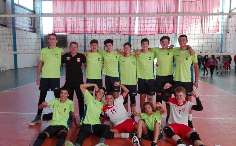 echipa de volei cadeti a clubului Dinamo