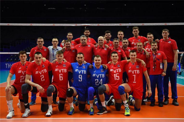 Naționala Rusiei e marea favorită a acestui Campionat Mondial de volei 2018