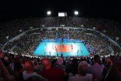 11.170 de spectatori au asistat la meciul de deschidere al Campionatului Mondial de volei Italia - Japonia la Foro Italico