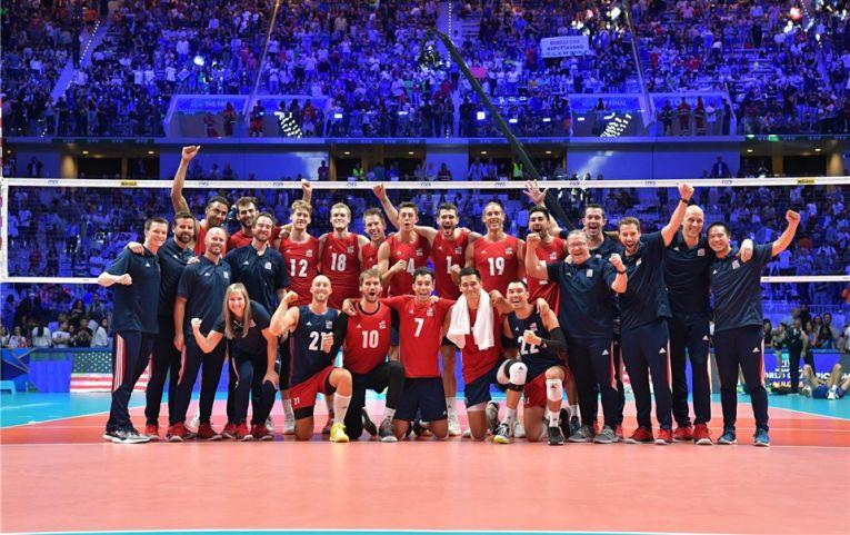 Nationala de volei a SUA a cucerit medalia de bronz la Campionatul Mondial masculin