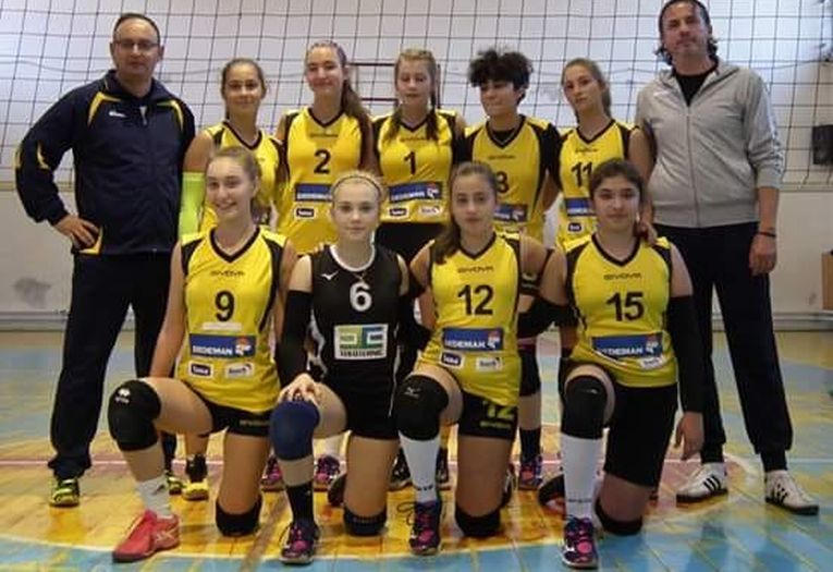 Echipa de cadete CSS Bacau in campionatul 2018/ 2019