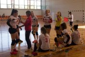 CSU Oradea volei feminin time out