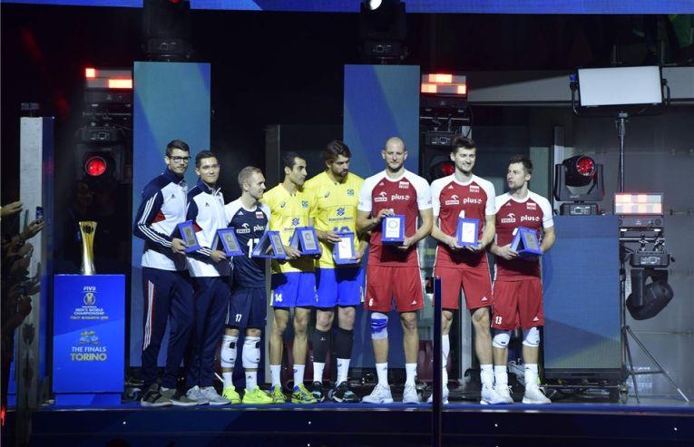 Echipa ideala a Campionatului Mondial de volei 2018