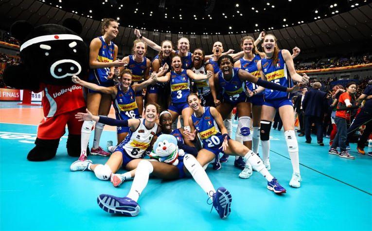 Italia s-a calificat pentru a doua oara in finala Campionatului Mondial feminin de volei