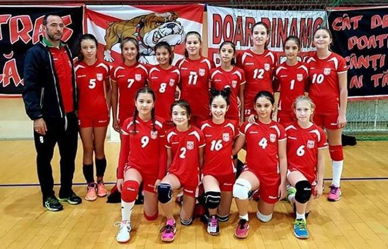 Dinamo echipa feminina de minivolei Dinamo