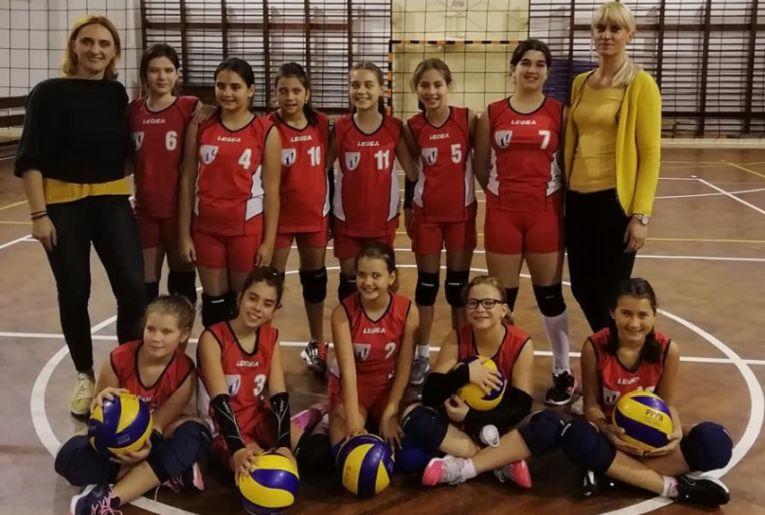 Echipa de minivolei feminin LPS Cluj
