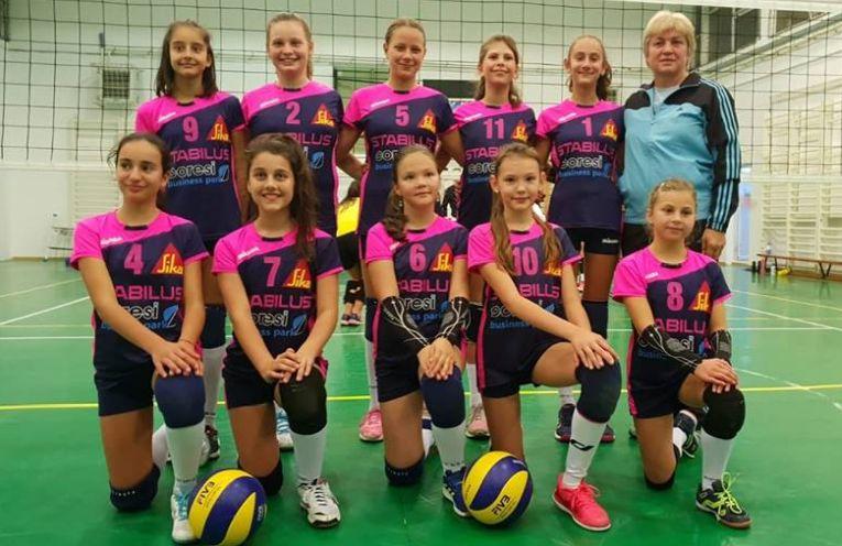 Echipa de minivolei Juvenil Brasov