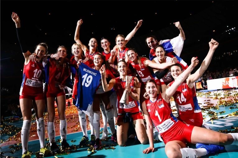Nationala de volei a Serbiei a cucerit pentru prima data titlul mondial
