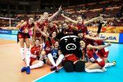 Serbia și bucuria ce a urcat calificării in Final Six la Campionatul Mondial de volei feminin 2018