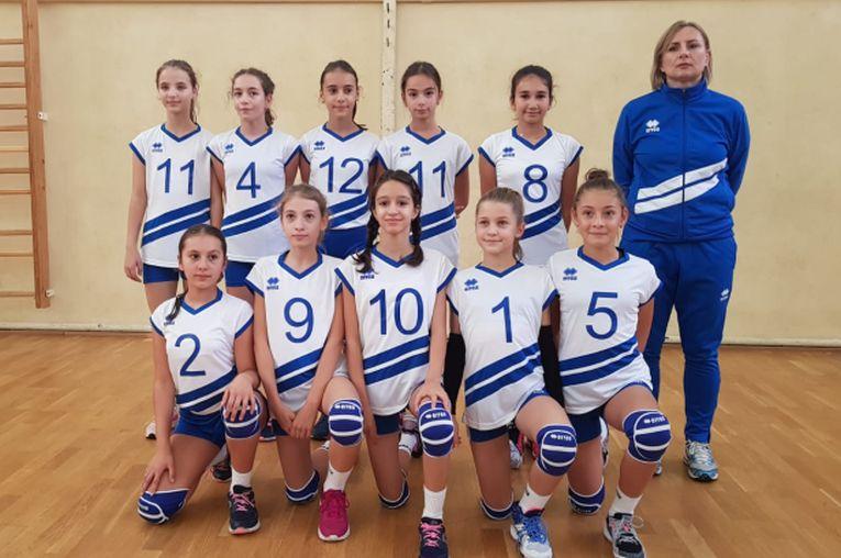 Echipa de minivolei feminin CNNT Craiova