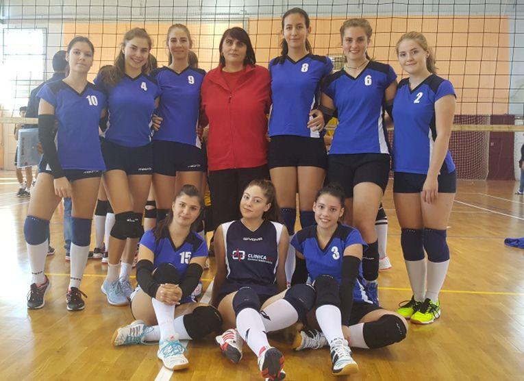 lps piatra neamt, echipa de junioare in campionatul de volei 2018/ 2019